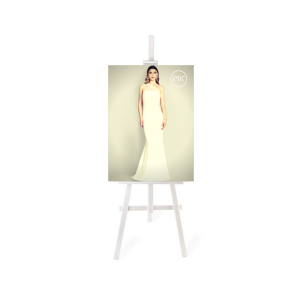 White Display Easel - A0 A1 A2